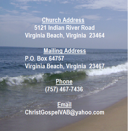 church address contact 5 19 15